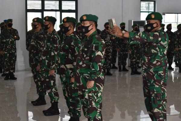 KASREM 101/Antasari Kini Dijabat Kolonel Arh Heri Purwanto