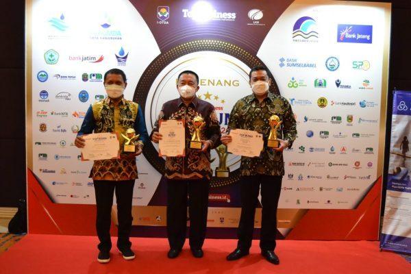 TIGA Penghargaan Top BUMD Diborong Provinsi Kalsel
