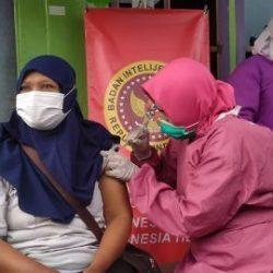 """BIN Kalsel dan Dinkes Banjarmasin Vaksinasi """"Door to Door"""""""