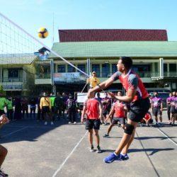 TURNAMEN Voli Pantai dan Futsal Dalam Rangka HUT ke-76 TNI