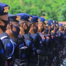 SATUAN BRIMOB akan Mengawal Kontingen Kalsel di PON XX Tahun 2021 Papua