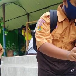 PTM SD DAN SMP di Banjarmasin Dilanjutkan, Meski PPKM Level 4