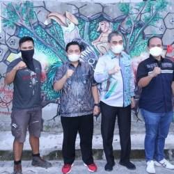 BANJAR MURAL Festival Ditutup Walikota Banjarmasin