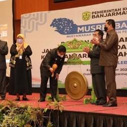RENCANA PEMBANGUNAN Kota Banjarmasin Dipaparkan Walikota di Musrenbang RPJMD 2021-2026