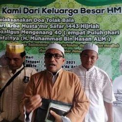 DOA Tolak Bala Arba Mustamir Dirangkaikan Mengenang 40 Hari Wafatnya Pimpinan Ormas PI Kalsel