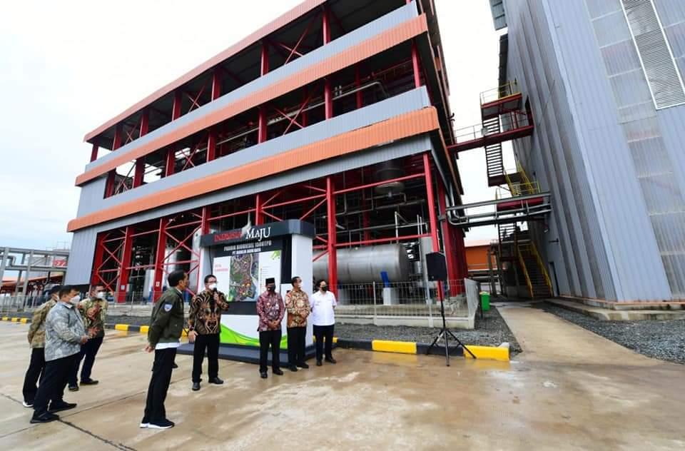 JOKOWI Resmikan Pabrik Biodiesel di Batulicin Tanah Bumbu, Begini Harapan Disampaikan