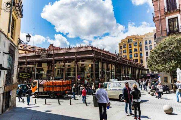 Mercado San Miguel em o que fazer em Madrid