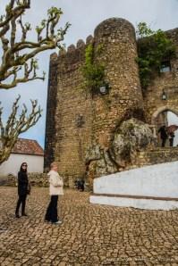 Castelo de Óbidos em Portugal