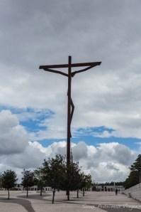 Cruz no Santuário em Portugal
