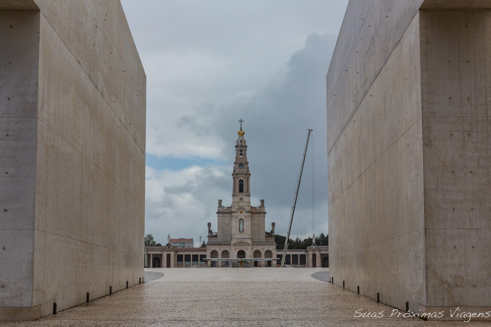 Igreja de Fátima em Portugal