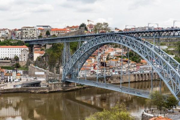 Ponte Luís I entre Porto e Gaia