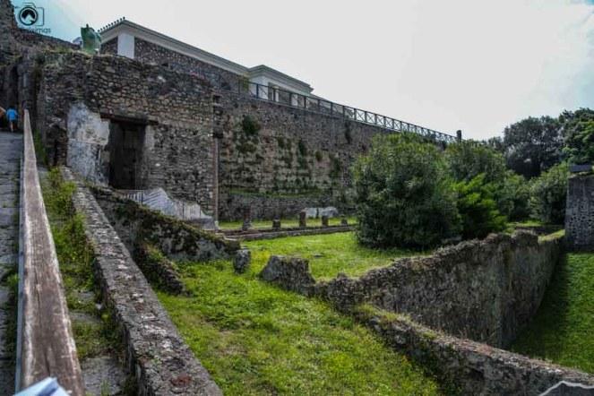 Vista Externa do Museu de Pompéia