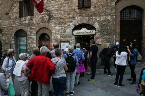San Gimignano - Gelateria Dondoli