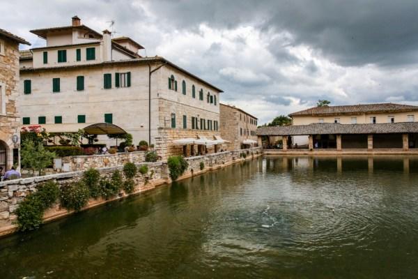 Bagno Vignoni em Toscana