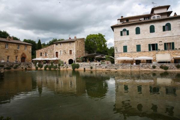 Bagno Vignoni na Toscana