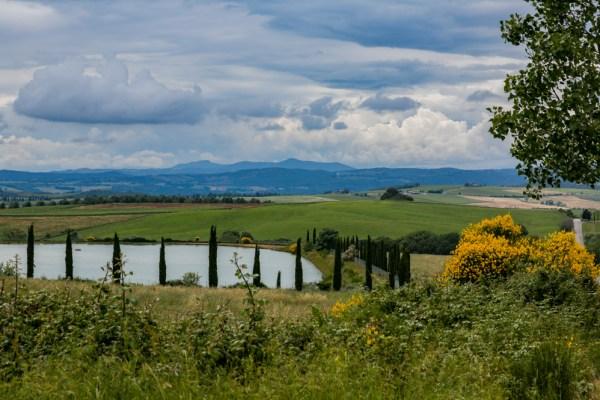 A bela região da Toscana