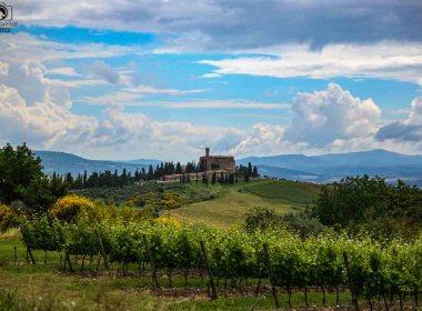 Castelo de Banfi, umas das Vinícolas da Toscana em um passeio pela Toscana