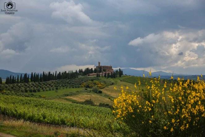 Castello Banfi nas Vinícolas da Toscana