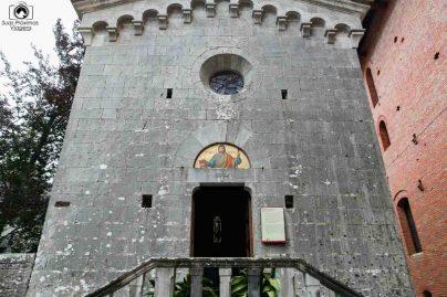Capela do Barone Ricasoli nas Vinícolas da Toscana