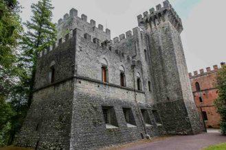 Castelo di Brolio nas Vinícolas da Toscana