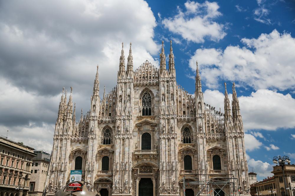 Fachada do Duomo em Milão