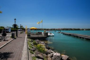 Deck no Lago Garda