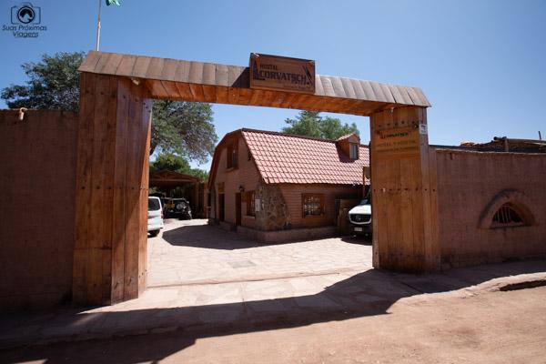 Imagem do hotel Corvatsch em onde ficar no Atacama