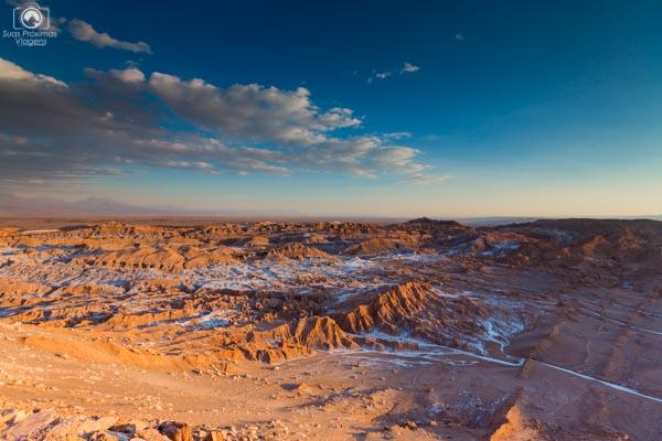 Valle de La Luna no Deserto do Atacama fotos