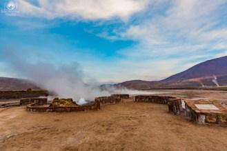 Geysers del Tatio no Chile Deserto do Atacama