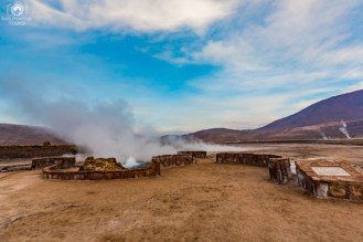 Geysers del Tatio no Chile Deserto do Atacama