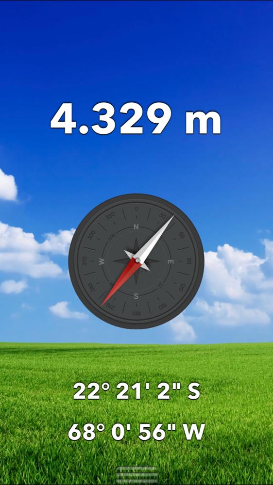 Altitude no local Solar de Tara