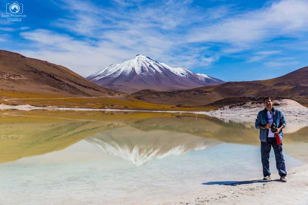 Vulcão Cainchique Visto desde Piedras Rojas