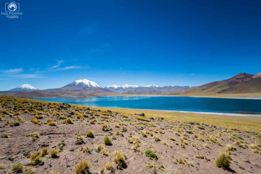 Laguna Miscanti nas Lagunas Altiplânicas