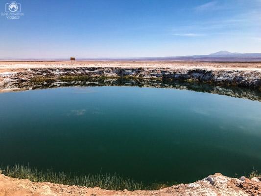 Ojos del Salar no Roteiro Atacama