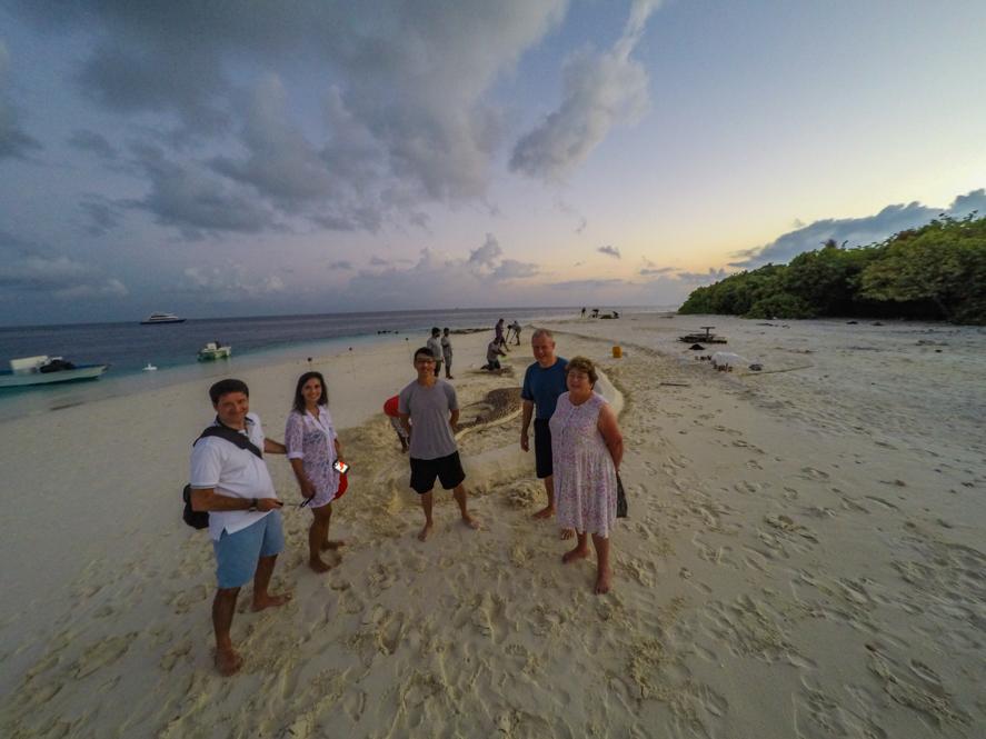 Churrasco na Ilha em Maldivas