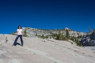 Bela Vista no Sentinel Dome no Parque Nacional Yosemite