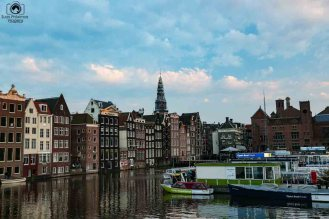 Canais em Amsterdam III
