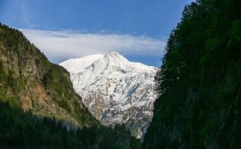 Bela Paisagem na Região de Chamonix