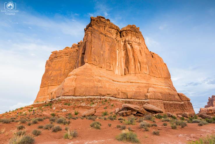 Imensa Formação Rochosa no Arches National Park