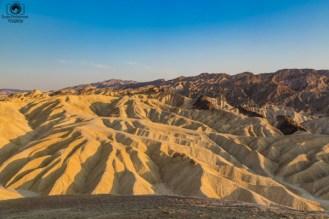 Zabriskie Point no Death Valley California