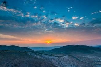 Sunrise Dante's View na Califórnia
