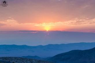 Sunrise Dante's View no Vale da Morte USA