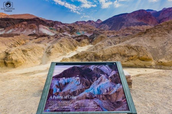 Artist's Pallete Parque Nacional Death Valley