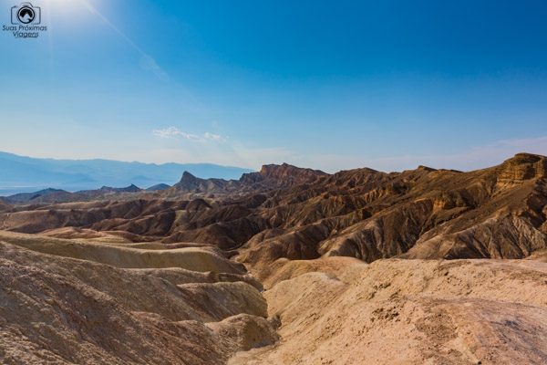 Zabriskie Point no Death Valley California USA