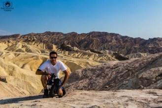 Zabriskie Point no Vale da Morte EUA