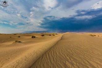 Mesquite Flats no National Park Death Valley EUA