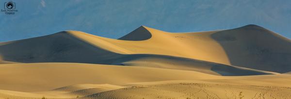 Mesquite Flats no Death Valley