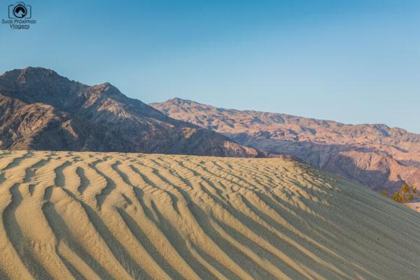 Mesquite Flats no Death Valley EUA