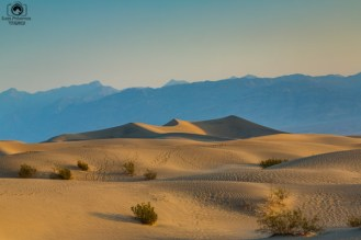 Mesquite Flats no Vale da Morte California