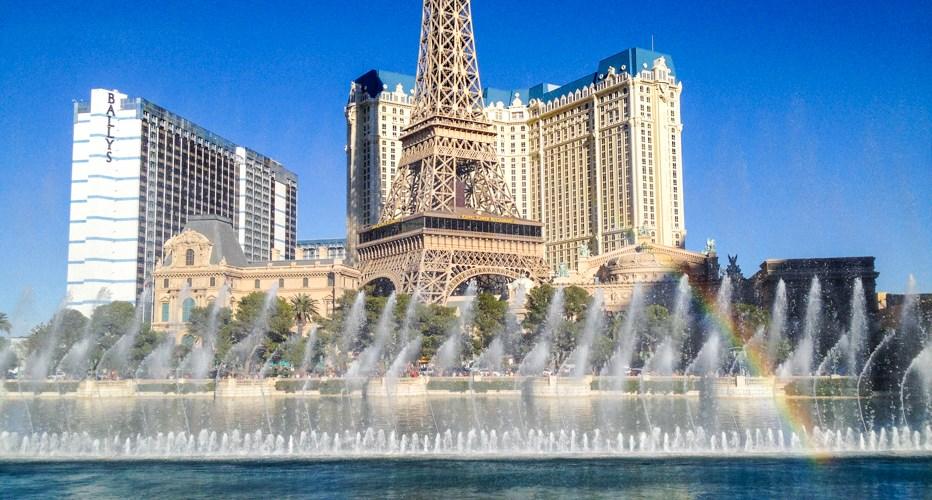 Fonte do Bellagio em Las Vegas